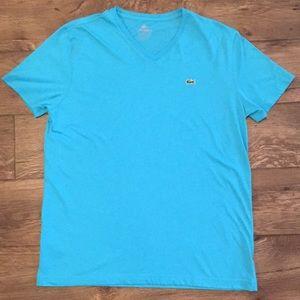 Men's Lacoste V-neck Pima Cotton T-Shirt